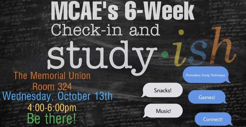 MCAE 6th Week Check-in: How you doing?
